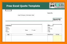 8 Free Quotation Templates Excel Reptile Shop Birmingham