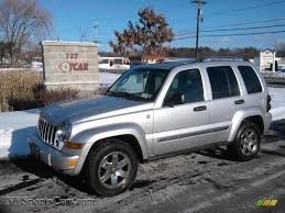 2005 Jeep Liberty Limited 4x4 in Bright Silver Metallic - 620508 ...