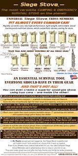 The Ultimate Portable Camping and Survival Stoves - NEW UNIVERSAL ...