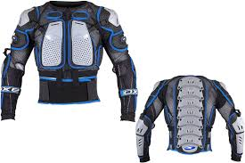 Axo Air Cage Protector Jacket Color Blue Size L