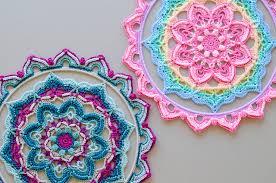 Free Crochet Mandala Pattern Amazing Decorative Mandala Free Crochet Pattern Free Crochet Patterns
