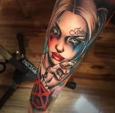 60 Quirky Harley Quinn Tattoo Ideas Bring Out Your Inner Harlequin