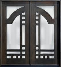 modern double door designs. Mahogany Solid Wood Front Entry Door - Double Modern Designs S