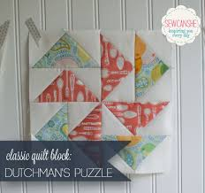 Classic Blocks: Fresh Fabrics for May... the Dutchman's Puzzle ... & For May, I'm so excited to show you the Dutchman's Puzzle quilt block. It's  a classic block and it's perfect for us to practice making flying geese. Adamdwight.com