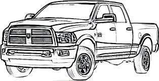 pickup truck coloring pages.  Pickup Interior Truck Coloring Pages Pickup Of Average Pick Up Majestic 6  To F