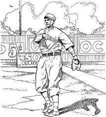 Small Picture Red Sox Outfielder Baseball Coloring Page Purple Kitty