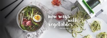 kitchen items store: veggie prep with spiralizer  us kitchen februart store front flip heroes inspiralizer desktop hero x cb