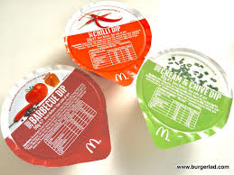 mcdonald s sauces uk