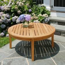 seneca round coffee table