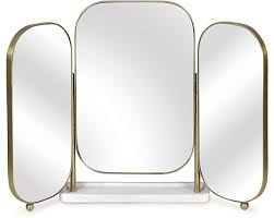 mirror. Alice Triple Dressing Table Mirror