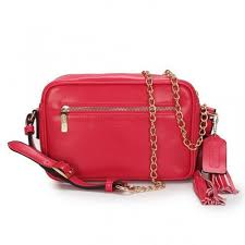 Coach Legacy Flight Medium Red Crossbody Bags AFW