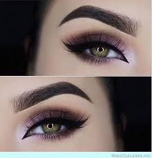 45 purple natural looking makeup for green eyes for new years party