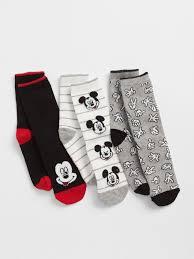 Gapkids Disney Mickey Mouse Crew Socks 3 Pack Gap Eu