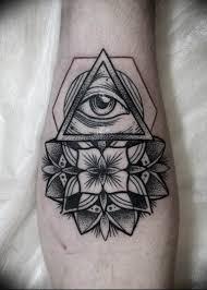Photo Eye In Triangle Tattoo 03032019 171 Idea For Eye In