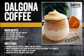 Scoop whisked coffee mixture on top of milk. Coffee In The Time Of Quarantine South Korea S Dalgona Coffee Trend