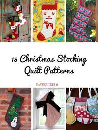 15 Christmas Stocking Quilt Patterns | FaveQuilts.com & 15 Christmas Stocking Quilt Patterns Adamdwight.com