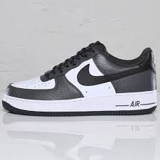 nike air force 1 basse. Nike Air Force 1 Low 07 LE Anthracite Black White Mens Basse