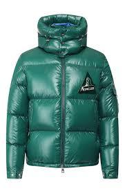 <b>Мужская</b> зеленая пуховая <b>куртка wilson</b> MONCLER — купить за ...