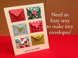 How To Make Tiny Envelope And A Card Tutorial Maymay Made It