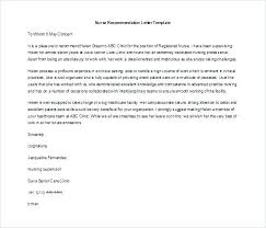 Letter Of Recommendation For Nursing School Letter Of Recommendation For Nursing School From Coworker