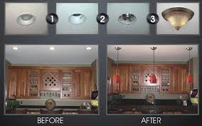 absolutely design replace recessed light with pendant changing lighting to new how and