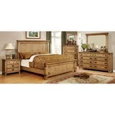 rustic bedroom furniture sets. Brilliant Furniture Furniture Of America Cauble Panel Bed Set Inside Rustic Bedroom Sets