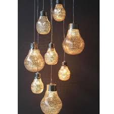 modern glass trendy chandelier light