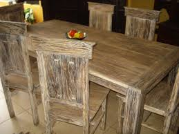 rustic table and chairs chair rustic chic dining chairs reclaimed wood s on rustic dining table