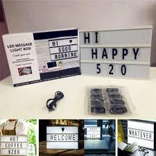 Letter Light Board Details About 3 Set Letter Cards For Cinema Light Box Message Board Decor Diy Led Light Box
