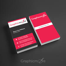 Free Design Business Cards Corporate Vertical Business Card Design Free Psd File