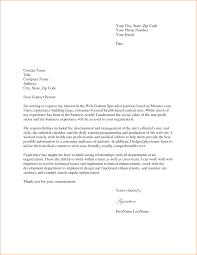 Letter For Job Application Resume Cover Letter For Applying Job Example Of Resume