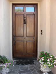 brown front doorLovely Colored Front Doors