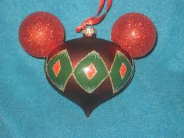 disney parks mickey ears ornament brand new factory tags