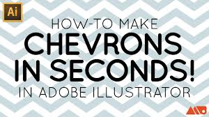 How To Make A Chevron Pattern