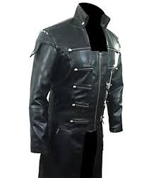 leather goth matrix trench coat steampunk gothic van helsing t20 prev
