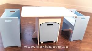 hip kids table and chairs set w toy storage box childrens table chairs set kids furniture you