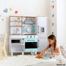 kidkraft gourmet chef play kitchen with ez kraft assembly 3 years