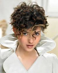Cut Short Hairstyle short haircut styles short haircuts for thick curly hair for 8492 by stevesalt.us