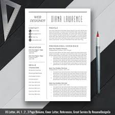 Modern Simple Resume Template Simple Resume Template Word 2019 Modern Cv Template Cover Letter