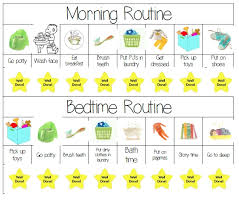 Kids Schedule Chart Polar Explorer