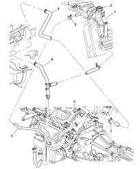 2007 chrysler 300 coolant recovery system heater plumbing rh moparpartsgiant 2010 chrysler 300 touring engine