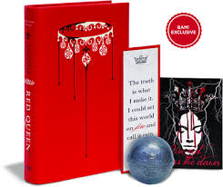 bam exclusive red queen collector bundle by victoria aveyard booksamillion books