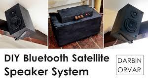 diy bluetooth satellite speaker system with subwoofer darbin orvar you