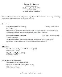 lcsw resume resume sample example of a simple resume for a job resume  examples and free
