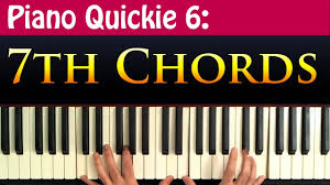 Piano Quickie 6 7th Chords Explained