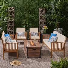 Outdoors By Design Olympia Olympia Outdoor 6 Piece Sofa Seating Group With Cushions