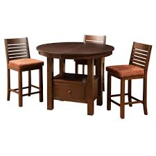 cafe gathering table round dining room dining room furniture solid wood solid