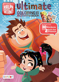 Search through 51895 colorings, dot to dots, tutorials and silhouettes. Amazon Com Wreck It Ralph Ultimate Coloring Activity Book 43796 Bendon Toys Games