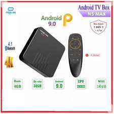 HCM]Android Tivi Box Magicsee N5 Max - Tivi Box Ram 4Gb - Bộ nhớ 32Gb -  Chíp 905X3 - Rom ATV