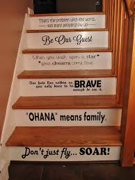 Stairs Quotes Classy Disney Stair Quotes Disney Steps Disney Quotes Vinyl Quotes Step